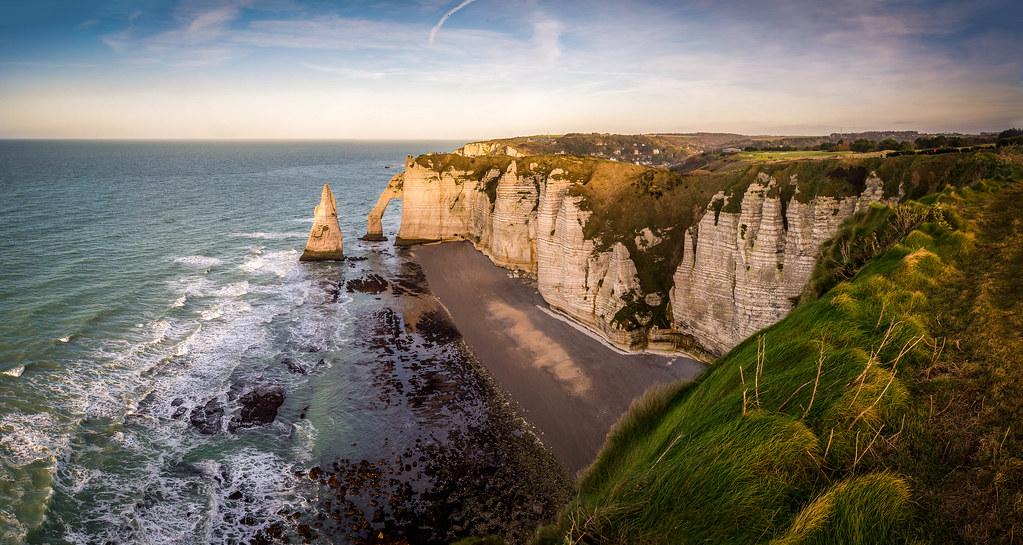 Porte d'Aval, Etretat cliffs