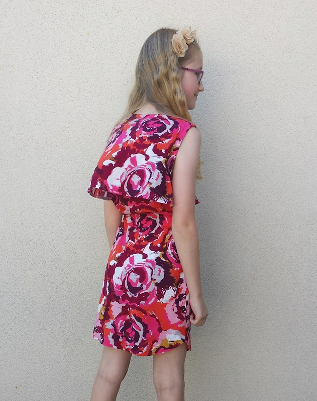Simplicity 1625 in rayon from Darn Cheap Fabrics