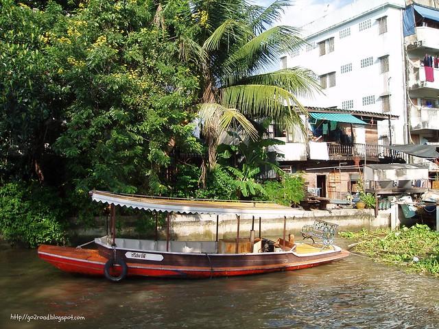 Клонги - каналы Бангкока