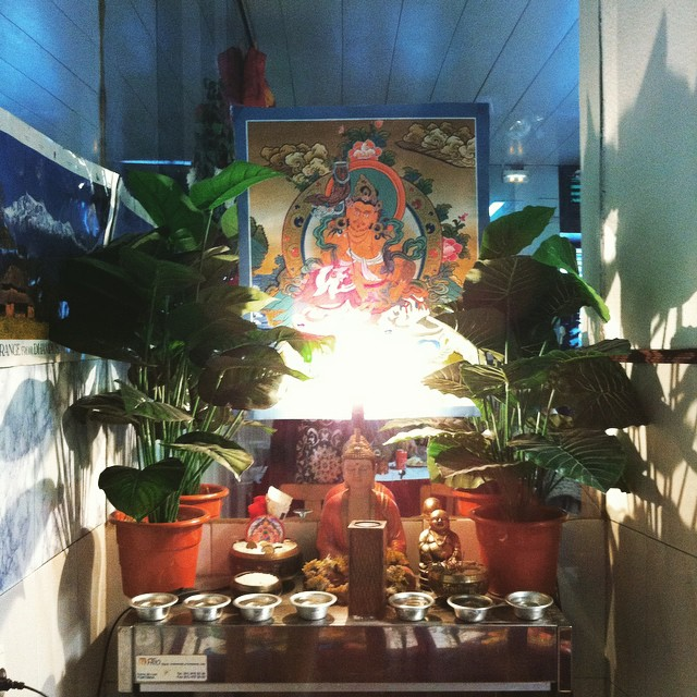Nepalês no Intendente.
