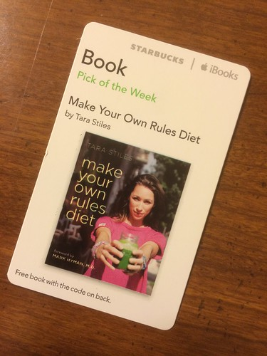 Starbucks iTunes Pick of the Week - Make Your Own Rules Diet by Tara Stiles