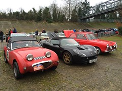 HCC at Brooklands New Years day Gathering