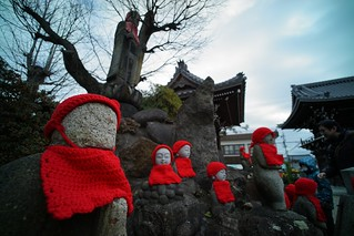 One scene in Arako-kannon Temple No.1.