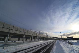 新幹線 高架橋