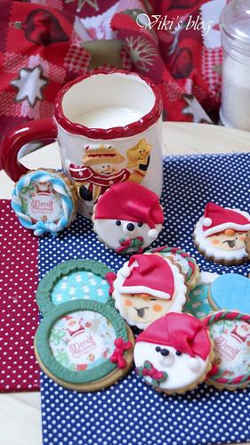 Christmas hunney cookies