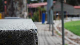 Concrete Bleacher