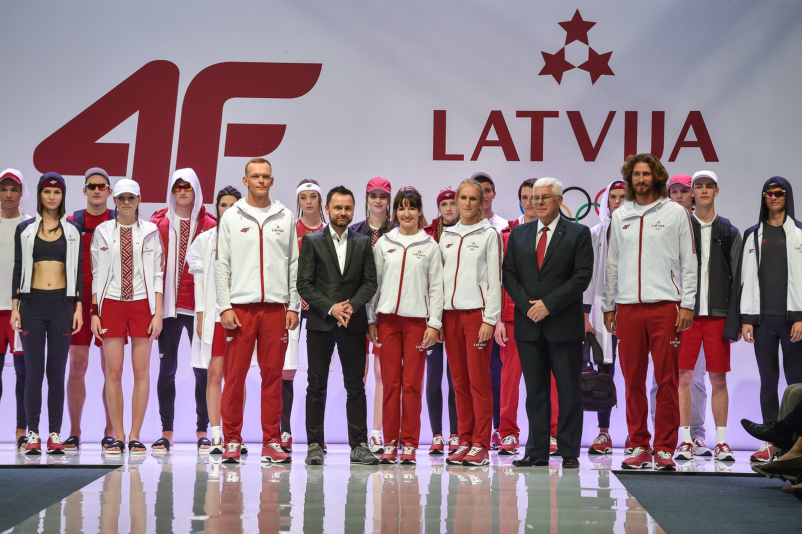 "4F delivers collection for the Latvian Olympic team ""Rio 2016"""
