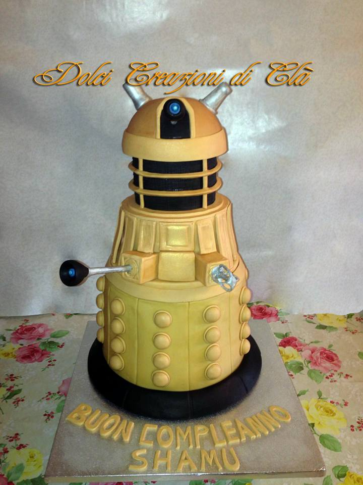 The TV Series Doctor Who Daleks Cake by Claudia Zara
