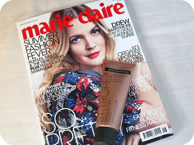Marie Claire St Tropez Freebies June 2016