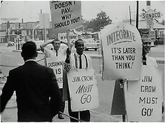 100 hour rights picket at the Hiser # 4: 1960