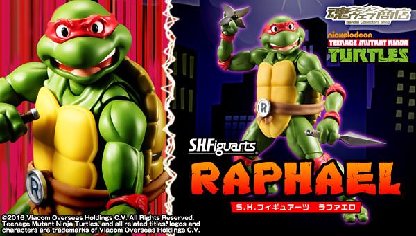 S.H.Figuarts 忍者龜【拉斐爾。Raphael】Teenage Mutant Ninja Turtles