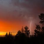29. Juuni 2016 - 3:38 - Sunrise Lightning in Prince George