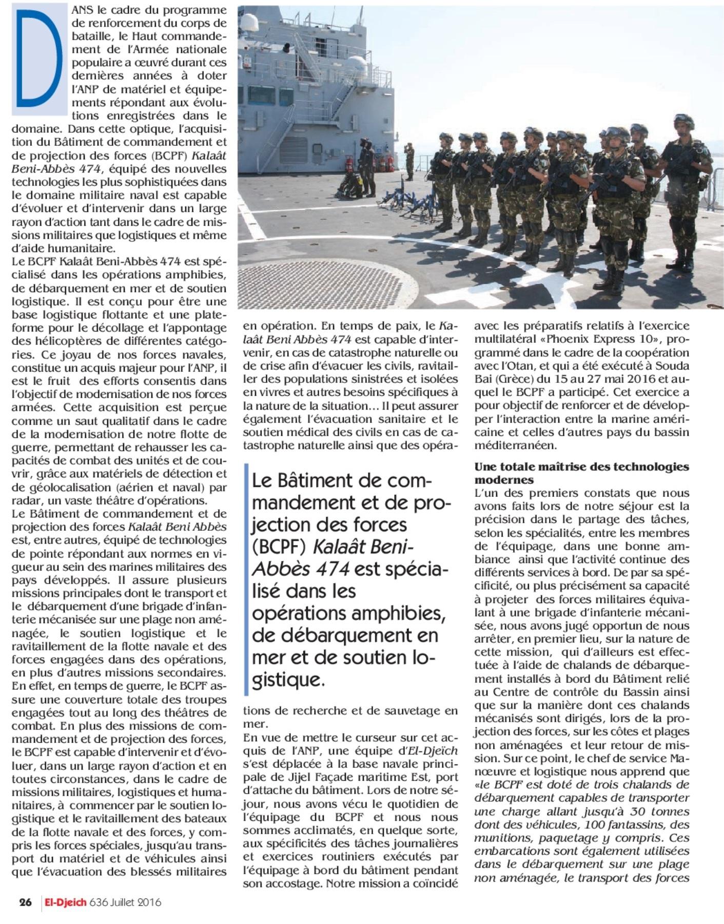 Armée Algérienne (ANP) - Tome XIV - Page 37 27736485184_ac9b35f90e_o