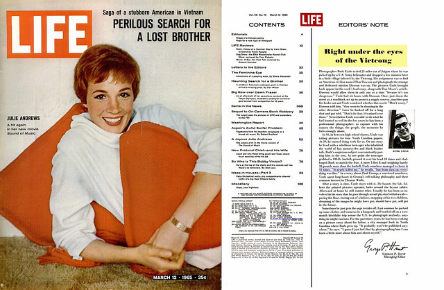 LIFE Magazine March 12, 1965 (1) -  PERILOUS SEARCH FOR A LOST BROTHER