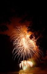 Fireworks, Champagney (Haute-Saône), 14 July 2016