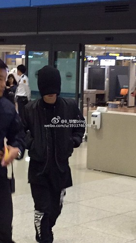 BIGBANG arrival Seoul 2015-10-26 weibo (2)
