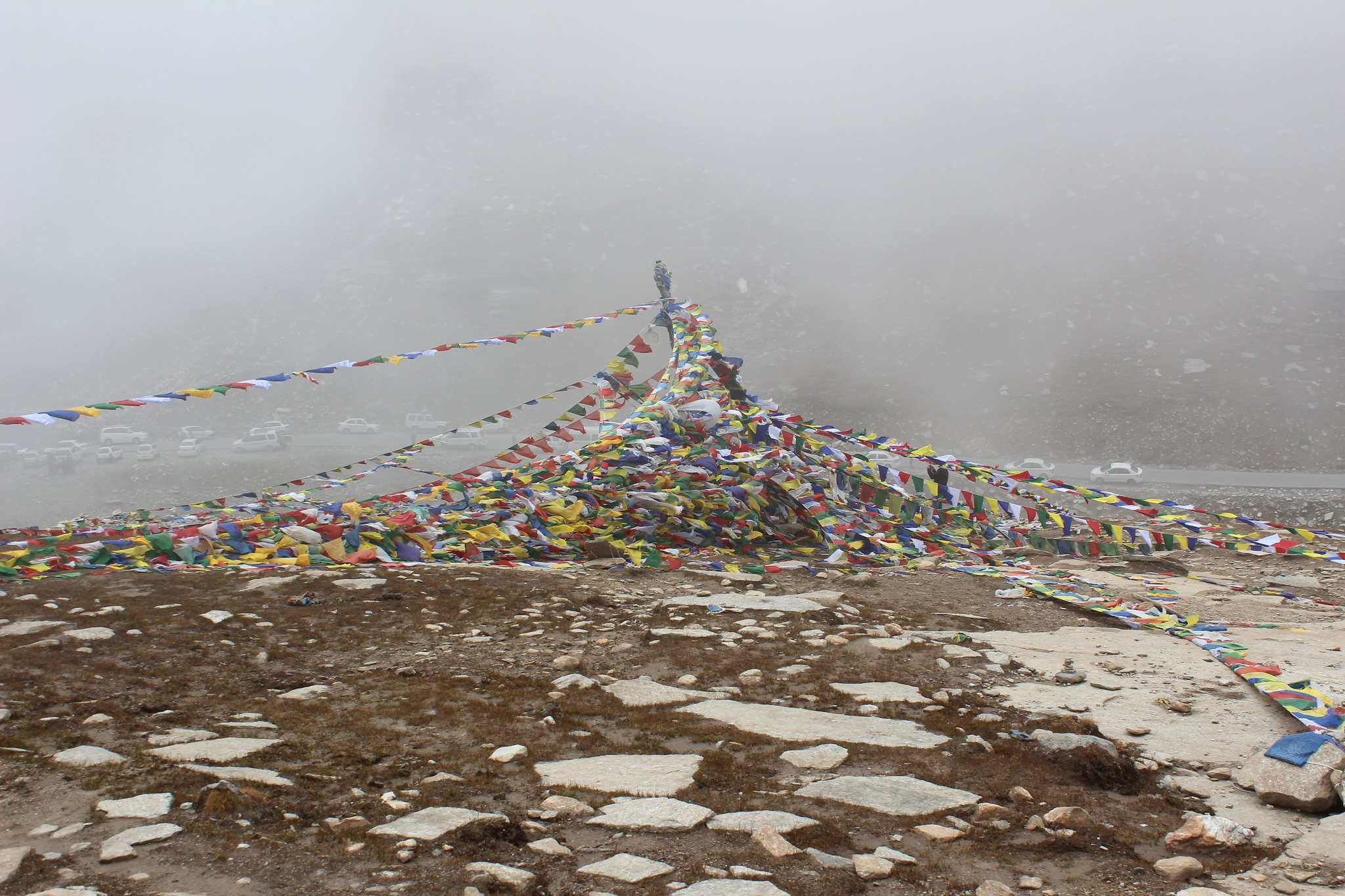 Prayer Flags at Rohtang Pass