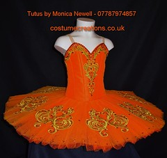 Orange Classical Ballet Tutu