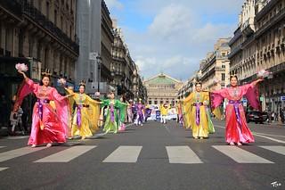 Marche pour les droits de l'Homme -  Falun Gong