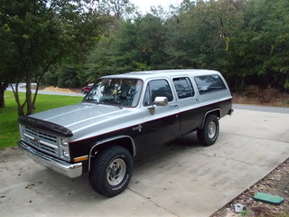 "Best Friend Jim""s 1985 3/4 ton Suburban!"