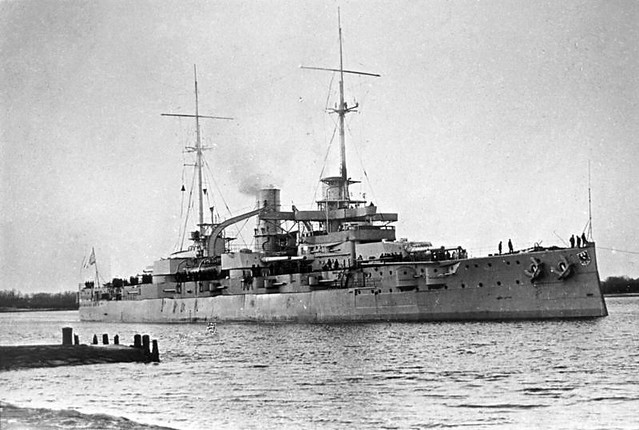Image of a WW1 Battleship