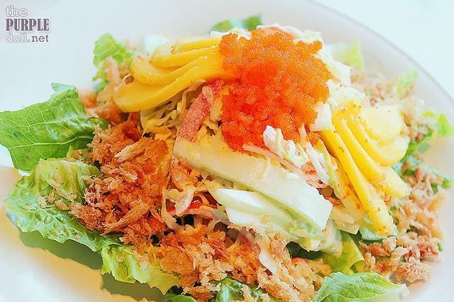 Kani Mango Salad (P180 Regular; P345 Large)