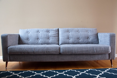 Mid-Century Karlstad Couch and Chair Hacks