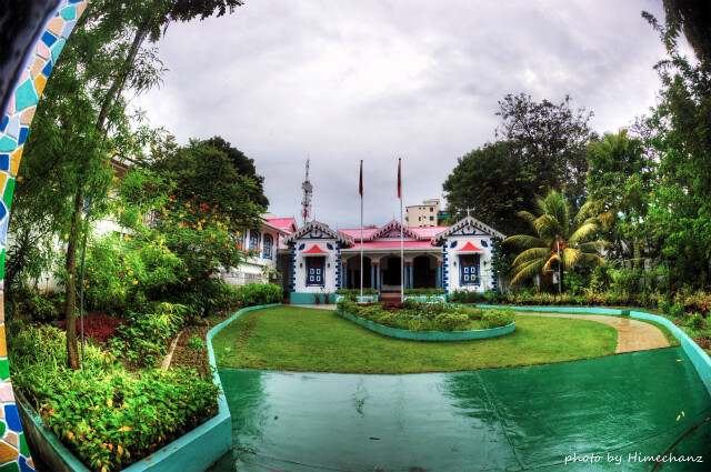 オシャレな建物♪大統領私邸だそうです。