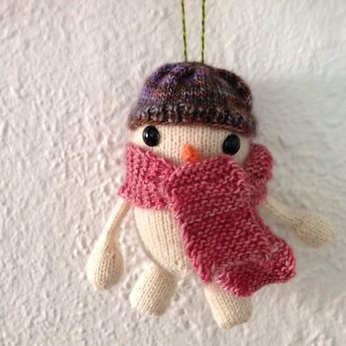 ⛄️❄️ #giftknitting