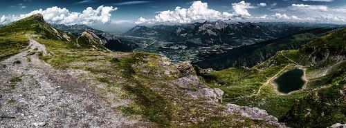 lake schweiz switzerland see view suisse ostschweiz valley svizzera rheintal mels tal schwarzsee wanderung rhinevalley sargans pizol 5lakes 5seen