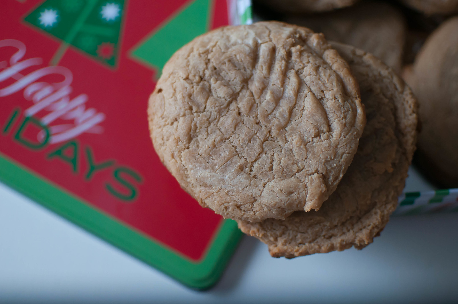 4 Ingredient Peanut Butter Cookies 3