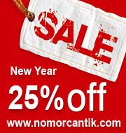 New Year 25%