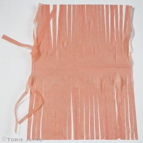 Tissue paper tassel garland tutorial 6