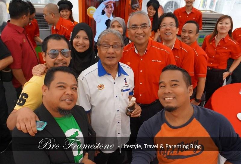 Selfie Bersama Dato' Sri Hasan Malek