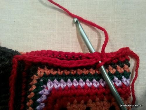 Single-Crochet-Along-Side