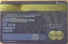 citi card rear