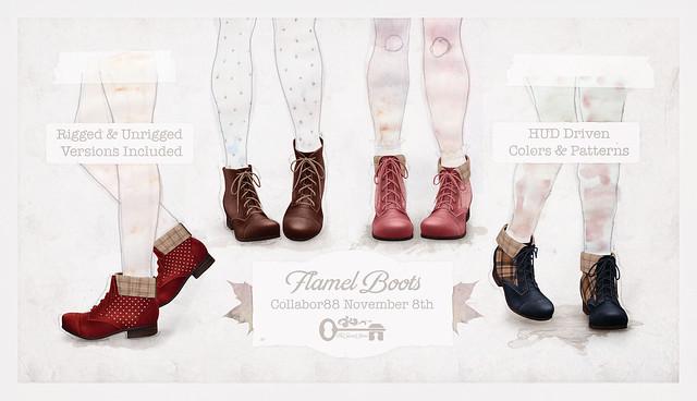 Flamel Boots