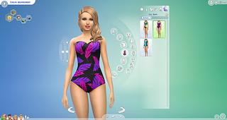 The Sims 4 pool swim suit  2