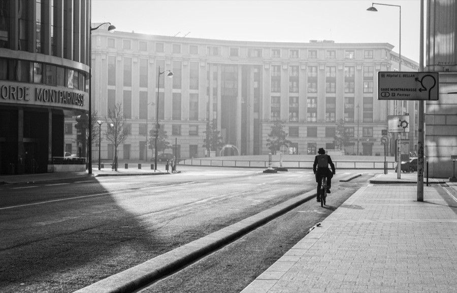 Le Cycliste de la Gare Montparnasse