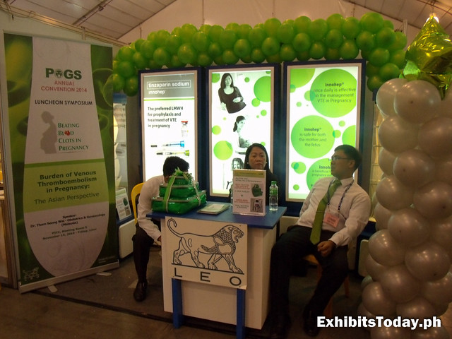 POGS Annual Convention 2014 booth