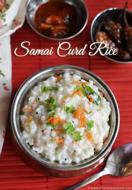 Samai Thayir Sadam Recipe