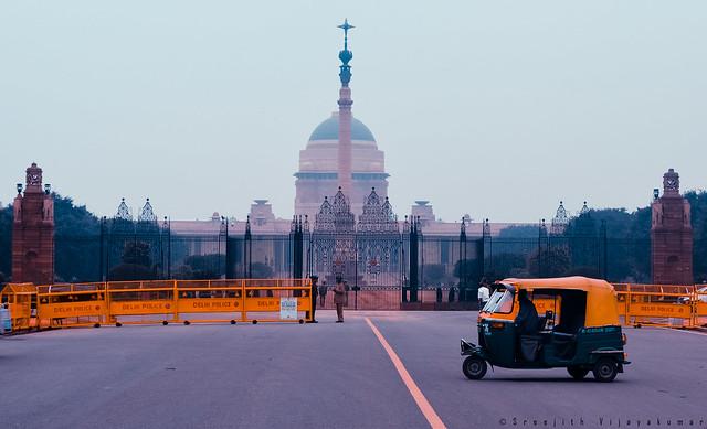 Rashtrapati Bhavan, Rajpath, Delhi