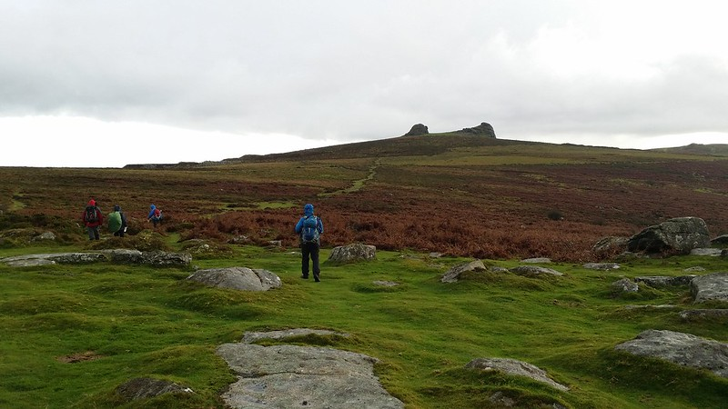 Heading for Haytor #dartmoor #sh