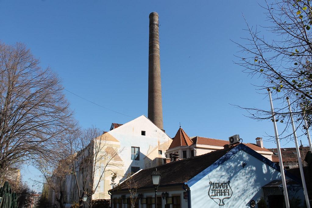 beer smokestack