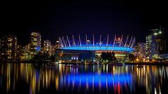 BC Place at Night