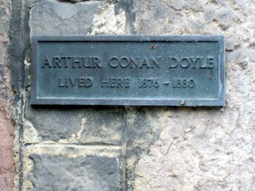 ARTHUR CONAN DOYLE LIVED HERE..