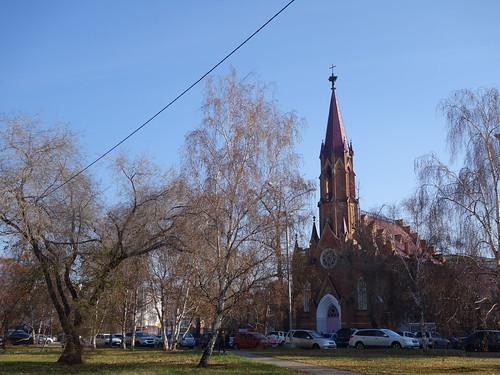 Premier aperçu de la ville d'Irkutsk