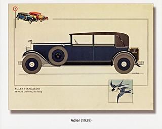 1929 Adler Standard 8 Cabriolet (Germany)