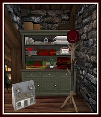Fall's Cabin in the Woods | Bedroom Hutch