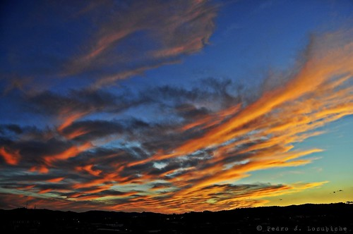 sunset sun sol clouds atardecer nubes puesta posta núvols sabadell capvespre